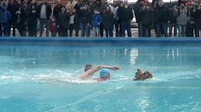 Plivanje za časni Bogojavljenski krst