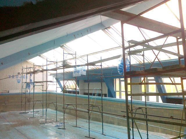 Renoviranje zatvorenog bazena