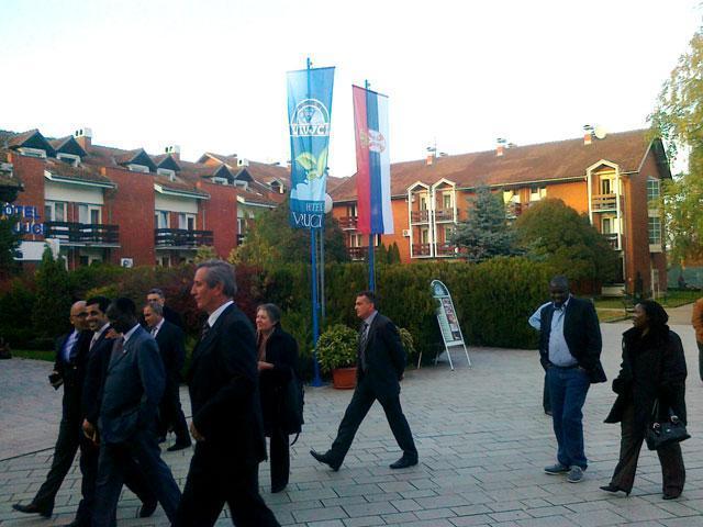 Ambasadori u Banji Vrujci