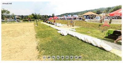 Banja Vrujci virtuelna šetnja :: Igralište u Banji