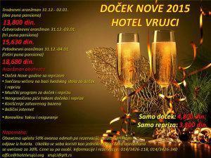 Banja Vrujci Nova Godina 2015