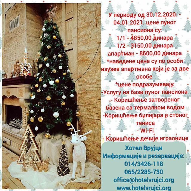 Banja Vrujci docek nove godine