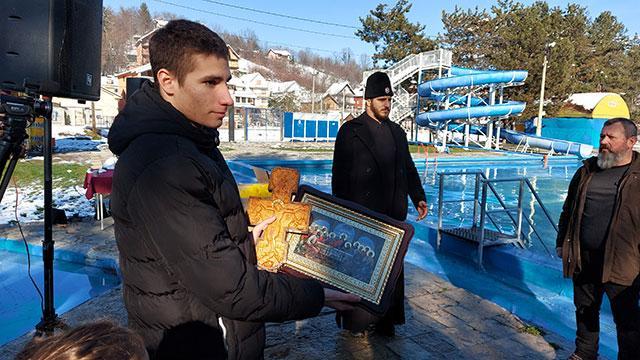 Banja Vrujci plivanje za casni Krst